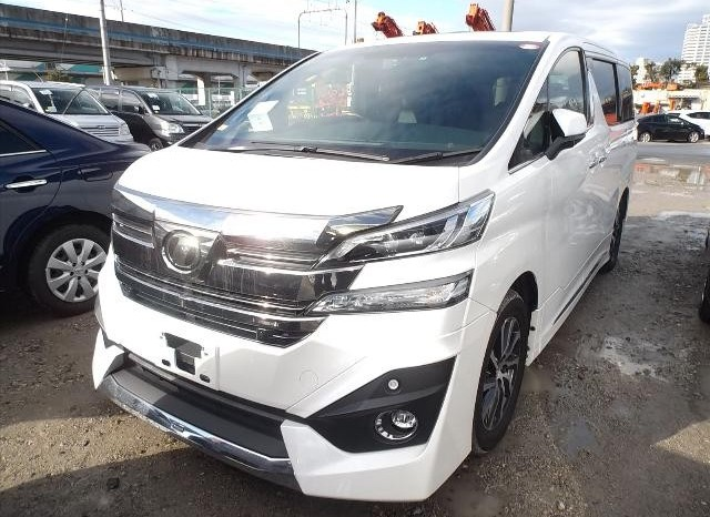 2015 Toyota Velfire Executive (Stock#2227) full